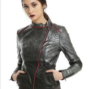 HER UNIVERSE Star Wars Phasma Vegan Leather Jacket